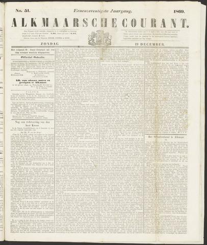 Alkmaarsche Courant 1869-12-19