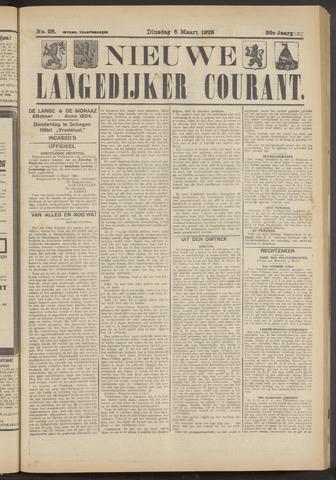 Nieuwe Langedijker Courant 1923-03-06