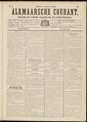 Alkmaarsche Courant 1911-01-25
