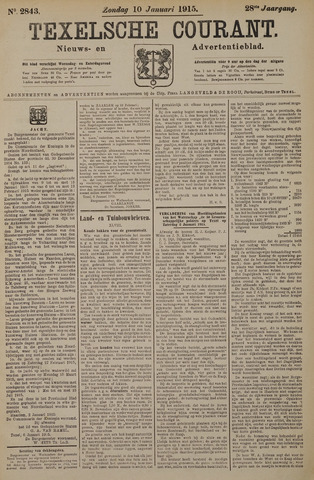 Texelsche Courant 1915-01-10
