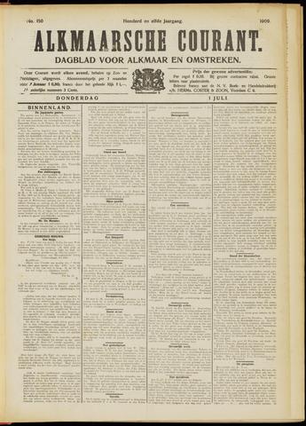 Alkmaarsche Courant 1909-07-01