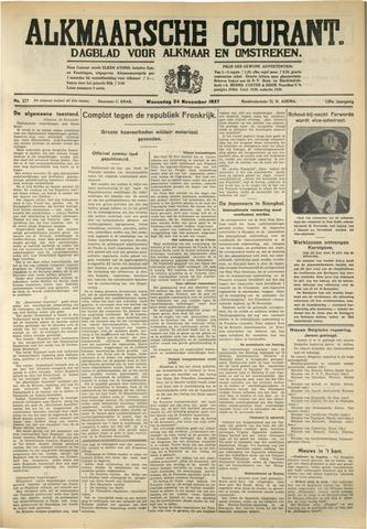 Alkmaarsche Courant 1937-11-24