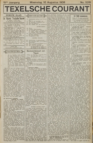 Texelsche Courant 1938-08-10