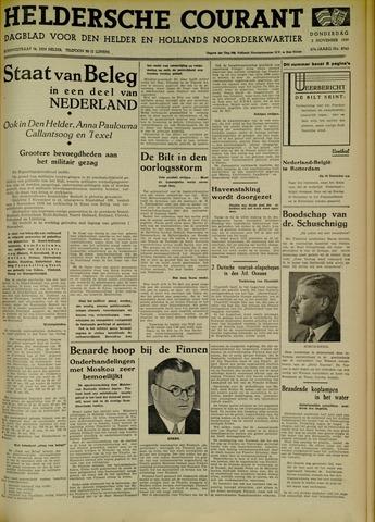 Heldersche Courant 1939-11-02