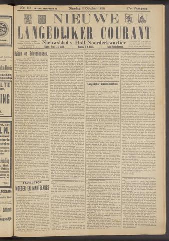 Nieuwe Langedijker Courant 1928-10-02