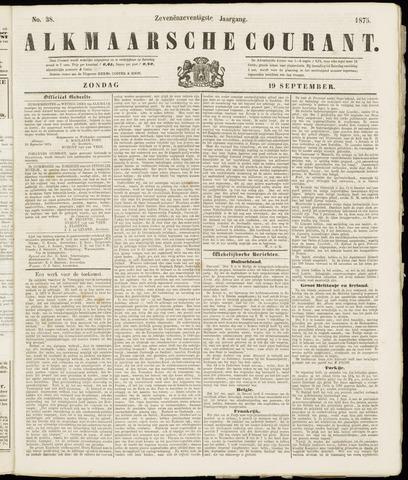 Alkmaarsche Courant 1875-09-19