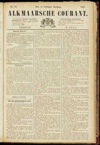 Alkmaarsche Courant 1881-07-15