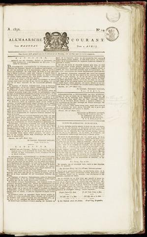 Alkmaarsche Courant 1832-04-02
