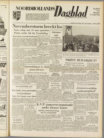 Noordhollands Dagblad : dagblad voor Alkmaar en omgeving 1953-11-02