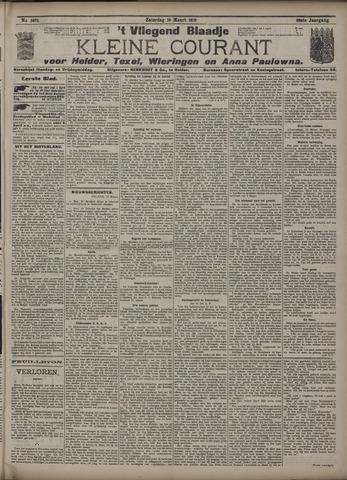 Vliegend blaadje : nieuws- en advertentiebode voor Den Helder 1910-03-19