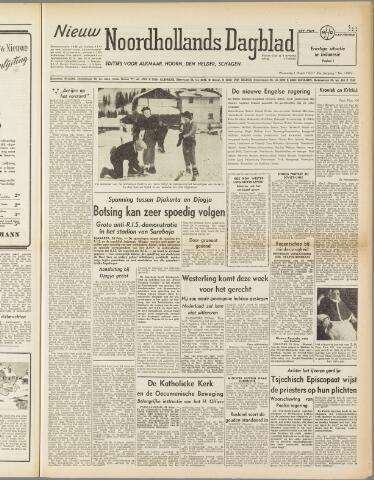 Nieuw Noordhollandsch Dagblad : voor Alkmaar en omgeving 1950-03-01