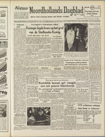 Nieuw Noordhollandsch Dagblad : voor Alkmaar en omgeving 1950-11-24