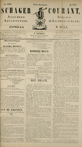 Schager Courant 1883-07-08