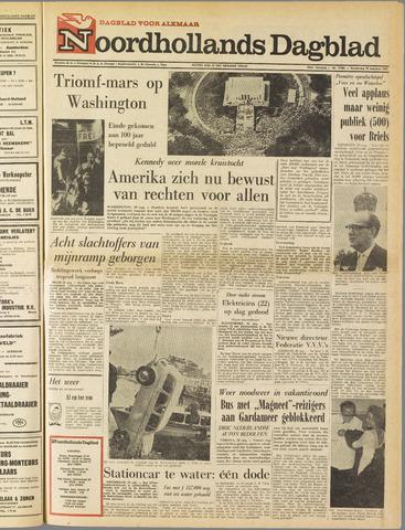 Noordhollands Dagblad : dagblad voor Alkmaar en omgeving 1963-08-29
