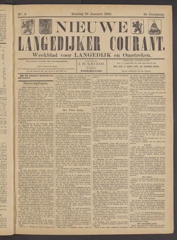 Nieuwe Langedijker Courant 1899-01-29