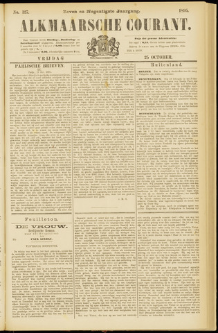 Alkmaarsche Courant 1895-10-25