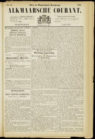 Alkmaarsche Courant 1891-06-03