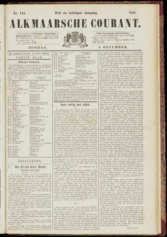 Alkmaarsche Courant 1881-12-04