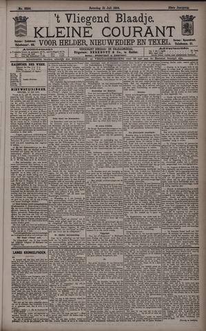 Vliegend blaadje : nieuws- en advertentiebode voor Den Helder 1894-07-21