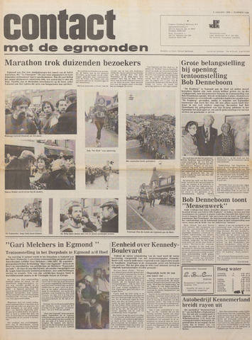Contact met de Egmonden 1980-01-09