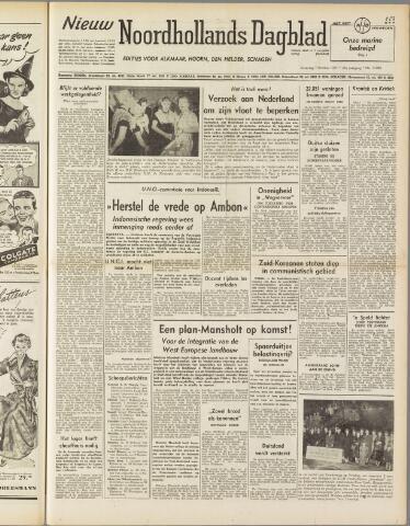 Nieuw Noordhollandsch Dagblad : voor Alkmaar en omgeving 1950-10-07