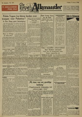De Vrije Alkmaarder 1948-01-09