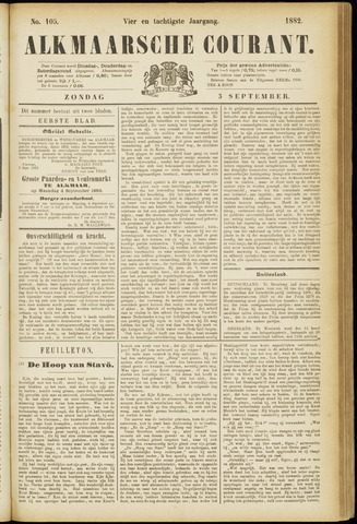 Alkmaarsche Courant 1882-09-03