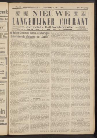 Nieuwe Langedijker Courant 1931-07-28