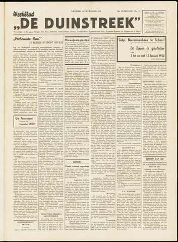 De Duinstreek 1951-12-14