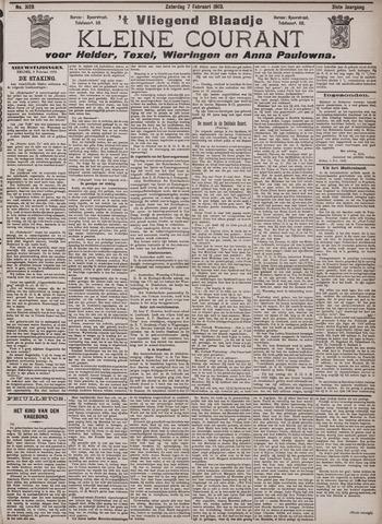 Vliegend blaadje : nieuws- en advertentiebode voor Den Helder 1903-02-07