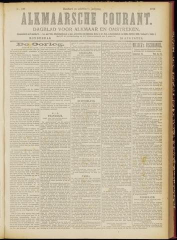 Alkmaarsche Courant 1916-08-24