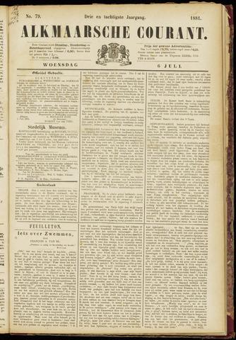 Alkmaarsche Courant 1881-07-06