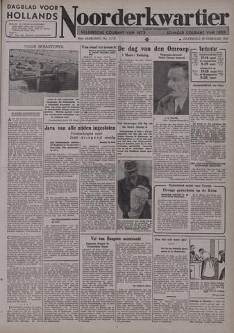 Dagblad voor Hollands Noorderkwartier 1942-02-28
