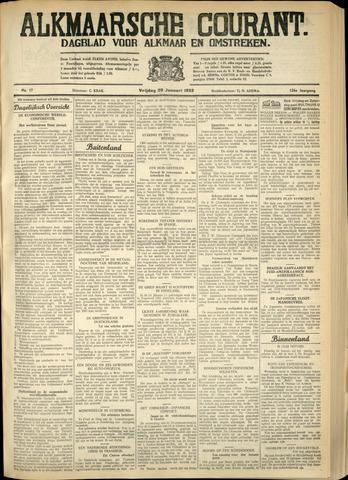 Alkmaarsche Courant 1933-01-20