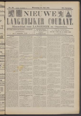 Nieuwe Langedijker Courant 1921-07-20