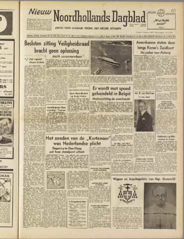 Nieuw Noordhollandsch Dagblad : voor Alkmaar en omgeving 1950-08-11