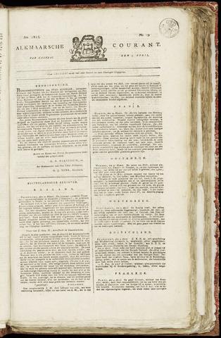 Alkmaarsche Courant 1818-04-13