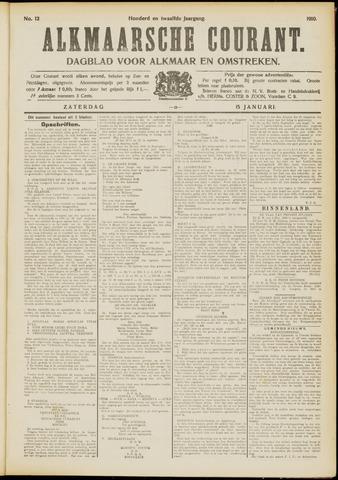 Alkmaarsche Courant 1910-01-15