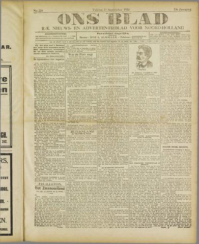 Ons Blad : katholiek nieuwsblad voor N-H 1920-09-24