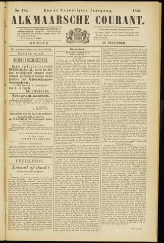 Alkmaarsche Courant 1889-12-29