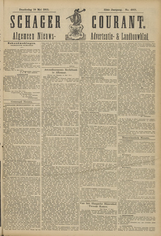 Schager Courant 1911-05-18