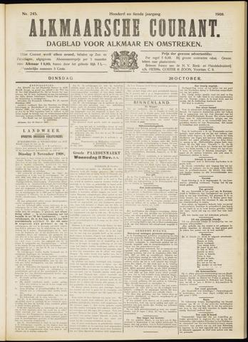 Alkmaarsche Courant 1908-10-20