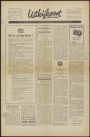 Uitkijkpost : nieuwsblad voor Heiloo e.o. 1958-05-02