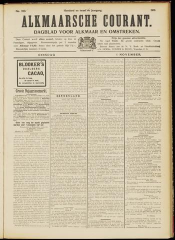 Alkmaarsche Courant 1910-11-01