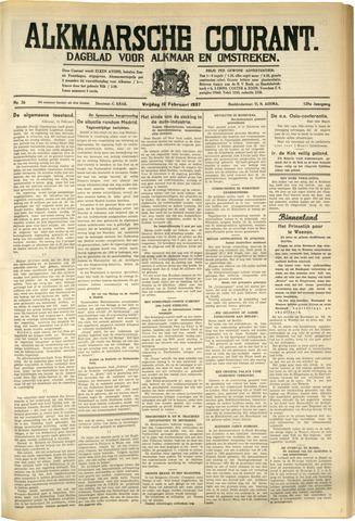 Alkmaarsche Courant 1937-02-12