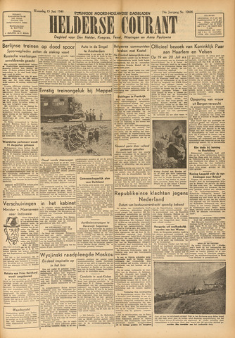 Heldersche Courant 1949-06-15
