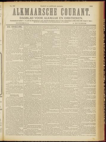 Alkmaarsche Courant 1916-11-09