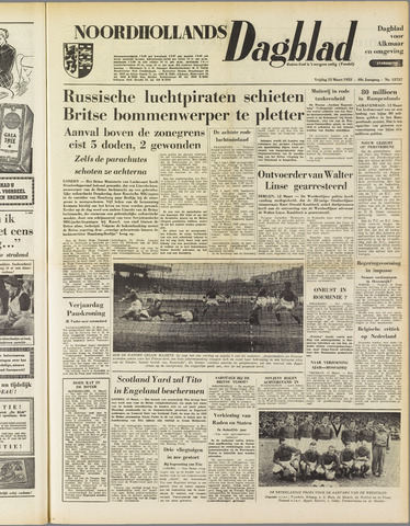 Noordhollands Dagblad : dagblad voor Alkmaar en omgeving 1953-03-13