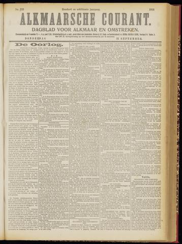 Alkmaarsche Courant 1916-09-21