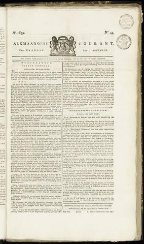 Alkmaarsche Courant 1839-11-04